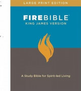 Omslag - FIRE BIBLE, KING JAMES VERSION, LARGE PR