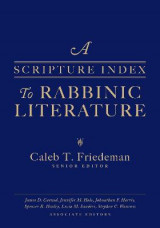 Omslag - A Scripture Index to Rabbinic Literature