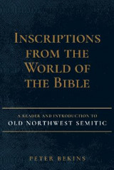 Omslag - Inscriptions from the World of the Bible