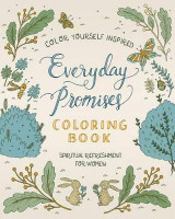 Omslag - Spiritual Refreshment for Women: Everyday Promises Coloring Book