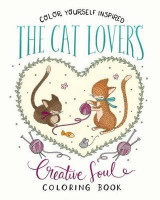 Omslag - The Cat Lover's Creative Soul Coloring Book