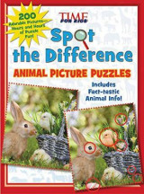 Omslag - Spot the Difference Animal Picture Puzzles