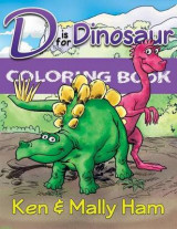 Omslag - D Is for Dinosaur Coloring Book