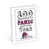 Omslag - Knock Knock 100 Reasons to Panic About Yoga