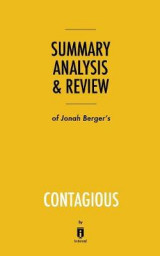 Omslag - Summary, Analysis & Review of Jonah Berger's Contagious by Instaread