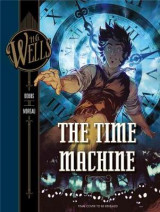 Omslag - H. G. Wells: The Time Machine