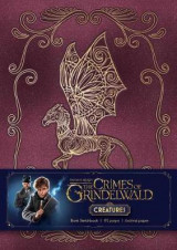 Omslag - Fantastic Beasts: The Crimes of Grindelwald: Magical Creatures Hardcover Blank Sketchbook