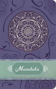 Mandala Hardcover Ruled Journal av Insight Editions (Innbundet)