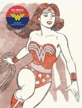 Omslag - DC Comics: Vintage Wonder Woman Dot Journal