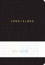 Omslag - Love is Love Hardcover Ruled Journal