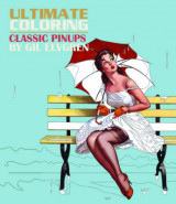 Omslag - Ultimate Coloring Classic Pin-Ups by Gil Elvgren Coloring Book