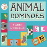 Omslag - Games on the Go!: Animal Dominoes