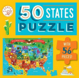 Omslag - Games on the Go!: 50 States Puzzle