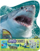 Omslag - Animal Adventures: Sharks