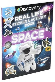 Discovery Real Life Sticker and Activity Book: Space av Courtney Acampora (Heftet)