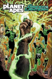 Planet of the Apes/Green Lantern av Justin Jordan og Robbie Thompson (Heftet)