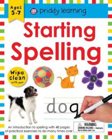 Wipe Clean Workbook: Starting Spelling av Roger Priddy (Spiral)