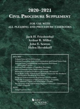 Omslag - Civil Procedure Supplement, for Use with All Pleading and Procedure Casebooks, 2020-2021