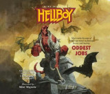 Omslag - Hellboy: Oddest Jobs