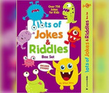 Omslag - Lots of Jokes, Riddles and Tongue Twisters for Kids
