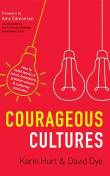 Courageous Cultures av Karin Hurt og David Dye (Lydbok-CD)