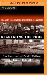 Omslag - Regulating the Poor