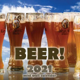 Omslag - Beer! 2021 Mini Wall Calendar