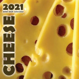 Omslag - Cheese 2021 Mini Wall Calendar