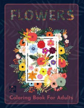 Flowers Coloring book for adults av Raz McOvoo (Heftet)