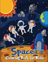 Omslag - Space Coloring Book for Kids