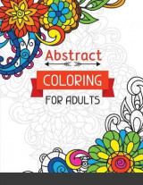 Omslag - Abstract Coloring for Adults