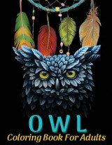 Omslag - Owl Coloring Book For Adults