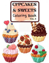 Cupcakes and Sweets Coloring Book vol. 2 av Over The Rainbow Publishing (Heftet)