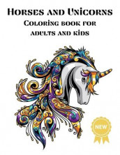 Horses and Unicorns Coloring books for Adults and kids av Over The Rainbow Publishing (Heftet)