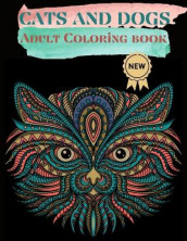 Cats and Dogs Adult Coloring Book av Over The Rainbow Publishing (Heftet)