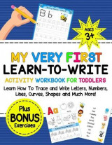 Omslag - My Very First Learn-To-Write Activity Workbook for Toddlers Activity Workbook for Toddlers
