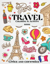 Travel Coloring & Activity Book - Cities and Countries av Over The Rainbow Publishing (Heftet)