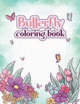 Omslag - Butterfly Coloring Book