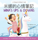 Omslag - Mina's Ups and Downs (Written in Traditional Chinese, English and Pinyin)