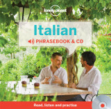Omslag - Lonely Planet Italian Phrasebook
