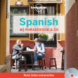 Omslag - Lonely Planet Spanish Phrasebook