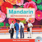 Omslag - Lonely Planet Mandarin Phrasebook