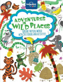 Adventures in Wild Places, Activities and Sticker Books av Lonely Planet Kids (Heftet)