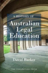 Omslag - A History of Australian Legal Education