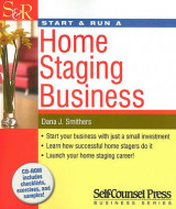 Omslag - Start & Run a Home Staging Business