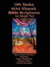 Omslag - Yasha Ahayah Bible Scriptures Aleph Tav (YASAT) Large Print Study Bible (2nd Edition 2019)