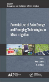 Omslag - Potential Use of Solar Energy and Emerging Technologies in Micro Irrigation