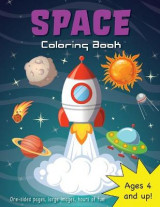 Omslag - Space Coloring Book for Kids Ages 4-8!