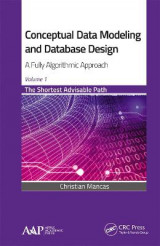 Omslag - Conceptual Data Modeling and Database Design: A Fully Algorithmic Approach, Volume 1