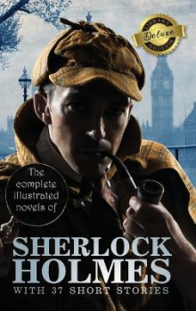 The Complete Illustrated Novels of Sherlock Holmes with 37 Short Stories (Deluxe Library Binding) av Sir Arthur Conan Doyle (Innbundet)